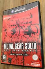 METAL GEAR solid the twin snakes NGC nintendo game cube Complet