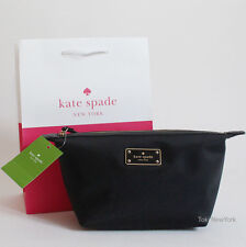 New Kate Spade New York Blake Avenue Jodi Cosmetics Make-Up Bag Black