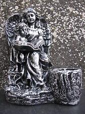 Engel Kunstharz Dekoration Deko Blumentopf Topf Grabschmuck Garten Figur