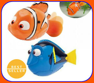 Cute Electronic Robotic Swimming Fish New Free Shipping Underwater Cartoon Toys