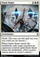 FOIL Stasis Snare -NM- Battle for Zendikar MTG Magic Cards White FOIL BUP-108