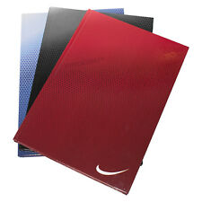 3 x Colour Office A4 Paper Notebooks Hardback 160 Page Lined Writing Books Pads