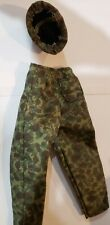 1/6 Scale  jungle pants and helmet military uniform1:6 for 12  figure