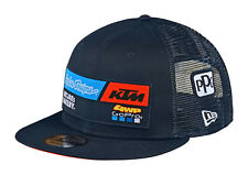 TLD KTM Team Navy Flat Brim Snapback Hat