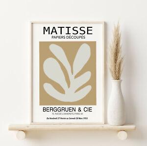 Matisse Exhibition Poster Matisse Cutout Print Papiers Decoupes Giclee Fine Art