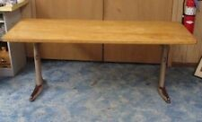 LEGS ONLY INDUSTRIAL DESK American Seating Corp Farmhouse School Table