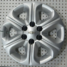 "(1) OEM 2014 CHEVY TRAVERSE 17"" HUBCAP / WHEEL COVER 3284 P/N 9597564"