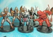 Dungeons & Dragons Miniatures Lot  Hobgoblin Marshal War Party !!  s112