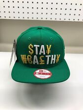 New Era Korea Exclusive Stay Wealthy St Patricks Brand New Snapback 9fifty