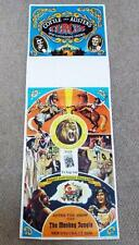 Vintage 1970's Cottle & Austens Circus Poster