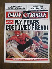 "Spiderman - 11"" x 15'' Daily Bugle Front Page Poster Print ( T1)  - B2G1F"
