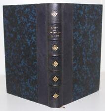 """Francis WEY """"Les Anglais chez eux"""" Librairie Hachette et Cie 1876 Bein relié"""