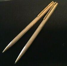 RARE Vintage HALLMARK 1 / 20 14K Gold Filled Pen Pencil Set