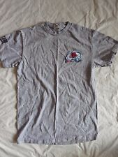 Colorado Avalanche Women's Small Grey Short Sleeve Shirt Altitude Sports