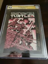 Turtles #1 CGC 9.6 1985 Teenage Mutant Ninja! 3rd Print signed and sketched 🔥!!