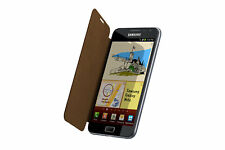 Genuine Samsung Flip Cover for Galaxy Note (EPC-1E1CDECSTD) - Brown (x2)
