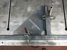 Pinza per saldatura angolo di grandi dimensioni 300mm x 300mm (taglio laser e la precisione piegato)