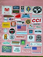 Lot of 40 Gun Related Stickers New - Ruger Walther Authentic- Wholesale Pricing!
