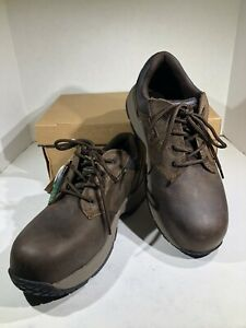 Dr. Martens Linnet SD Men's Size 8 Brown Leather Work Shoes X7-1575