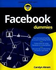 Facebook for Dummies by Carolyn Abram (2016, Paperback)