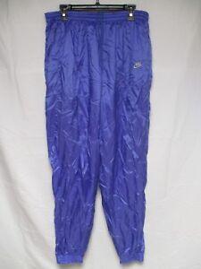Pantalon NIKE INTERNATIONAL VINTAGE violet années 90 parachute nylon pant XL