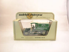 Matchbox Model of Yesteryear MOY Y 25 Renault 1910 AG Perrier neuf/boîte  (#A25)