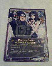 Naruto Cards TCG CCG Kurenai & Asuma 1548 RARE COMBINED SHIPPING