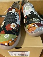 Art of Walk UIN Hana Printed Canvas Slip-On Art Sneakers