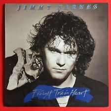 Jimmy Barnes Freight Train Heart LP with Inner sleeve + Poster Vinyl Excellent