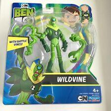 Ben 10 Wildvine Figure with Battle Vines Playmates Toys Brand New