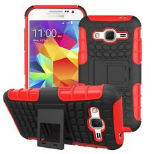 Proof Hard Case Heavy Duty Survivor Tough Shock Cover for Mobile PHONES Tablets Samsung Galaxy S5 Red