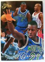 1995 95-96 FLAIR KEVIN GARNETT ROOKIE RC #206, Glossy TIMBERWOLVES!