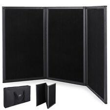 135 X 76cm 3 Panel Tabletop Display Presentation Board Tri-Fold Fabric Booth