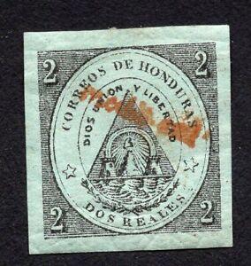 Honduras 1877 stamp Mi#8a MH CV=15€