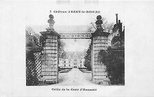 BF4858 grille de la cour d hon chateau d azay le rideau france