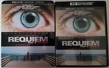 REQUIEM FOR A DREAM 4K ULTRA HD BLU RAY 2 DISC SET + SLIPCOVER FREE SHIPPING