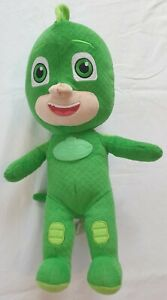 PJ Masks Gekko Talking Character Soft Toy