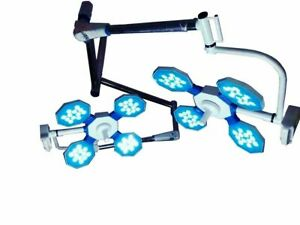 Surgical & Examination LED Lights Ceiling OT Double Dome Surgical Lights or LAMP