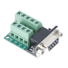 DB9 female adapter signals terminal module RS232 serial to DB9 connector M  TDC