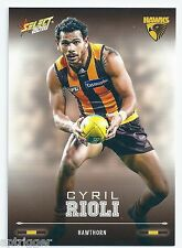 2016 Select Footy Stars Base Card (122) Cyril RIOLI Hawthorn