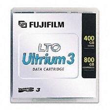 FUJI 15539393 26230010 LTO3 400/800GB TAPES WARRANTY 20 PACK 100% CERTIFIED