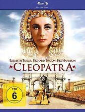 CLEOPATRA Richard Burton ELIZABETH TAYLOR Rex Harrison 2 BLU-RAY BOX Neuf