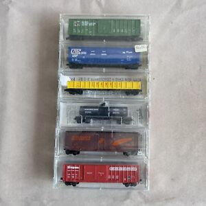 Kadee Micro Trains N Scale Mixed Railway Car Lot New #14