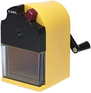 ]Pencil sharpener AIN Yellow made in Japan CARL office equipment CMS 110 Karu