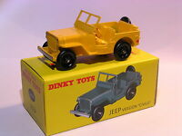 Jeep version civile  - ref 24 M au 1/43 de dinky toys atlas