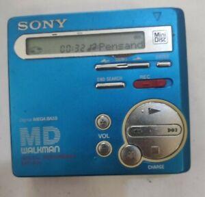 Sony Minidisc MZ-R70 Blue Walkman