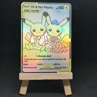 Mr & Mrs Pikachu Tag Team - Custom Pokemon Card