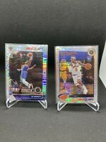 2019-20 NBA Hoops Premium Stock RJ BARRETT Prizm Pulsar Rookie RC Knicks (2)