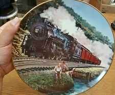 Homeward Bound Deneen Classic American Train Collector Plate Artaffects