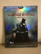 Abraham Lincoln: Vampire Hunter (Blu ray 2012) Horror Action Slipcover included